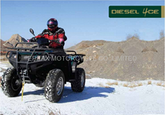 NEW 850CC DIESEL 4WD CVT ATV WITH REVERSE