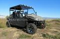 NEW DOUBLE ROW 4WD CVT UTV