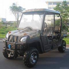 EEC double seats 500cc cvt utv with EFI engine