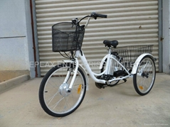 NEW ElECTRIC TRICYCLE WITH LITHIUM BATTERY