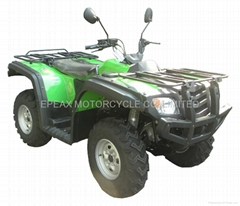 700cc water cooled 4X4 cvt EFI quad atv