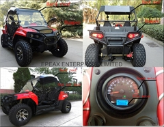 NEW 200CC SPORTY UTV(EFI