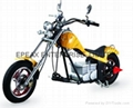 NEW ELECTRIC CHOPPER MOTORCYCLE