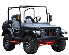 New Retro jeep electric vehicle