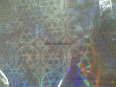 透明雙層BOF全息鐳射防偽收縮