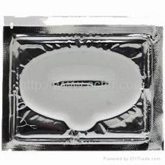 水晶膠原嘴唇膜貼片