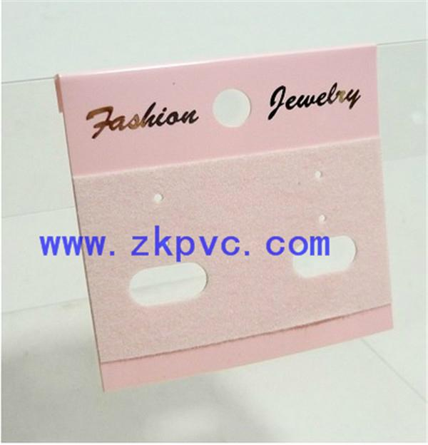 PVC耳環卡片 2