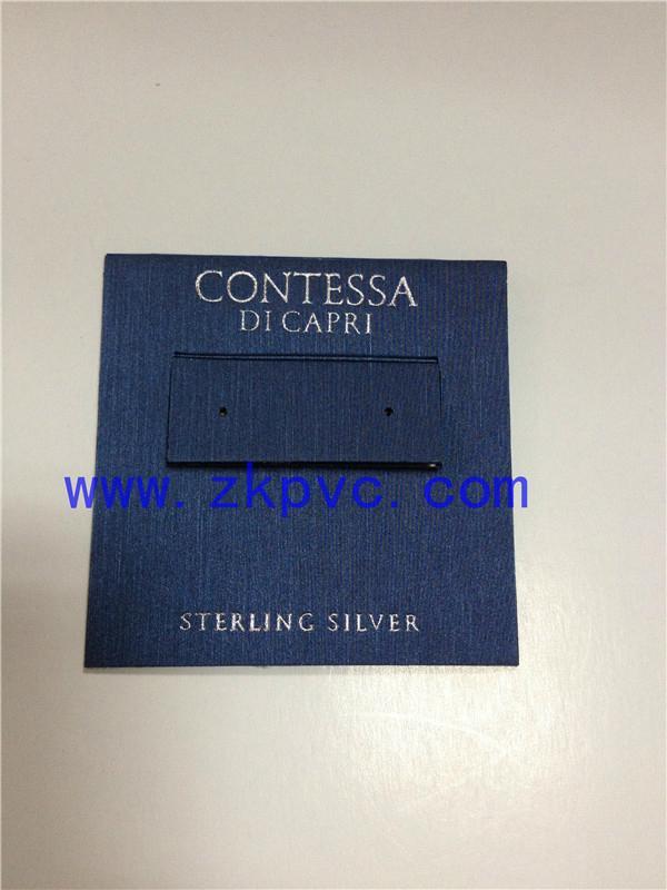 PVC耳环卡片 3