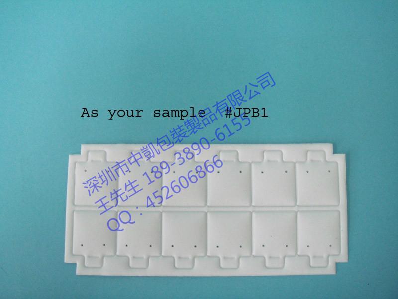 PVC电压耳钉卡片 1