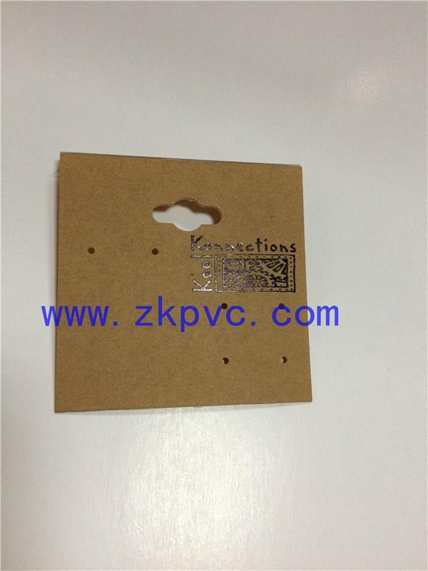 定制生产饰品包装卡片 1