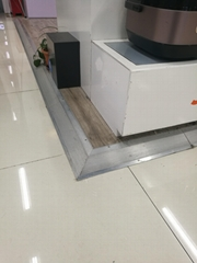 万弘木地板压边条铝合金高低门槛压边
