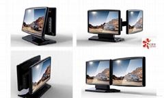 雙屏顯示器設計 數碼產品設計