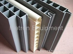 Interlocking PVC panel