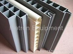 Interlocking PVC panel