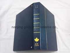 PU leather cover file folder
