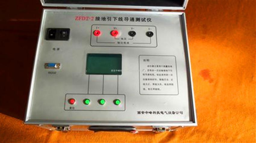 电力设备接地导通电阻测试仪 3