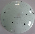 glass ceiling light decorate ceiling lighting fixture crystal indoor hotel lamp 3