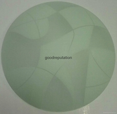 indoor hotel ceiling light glass round