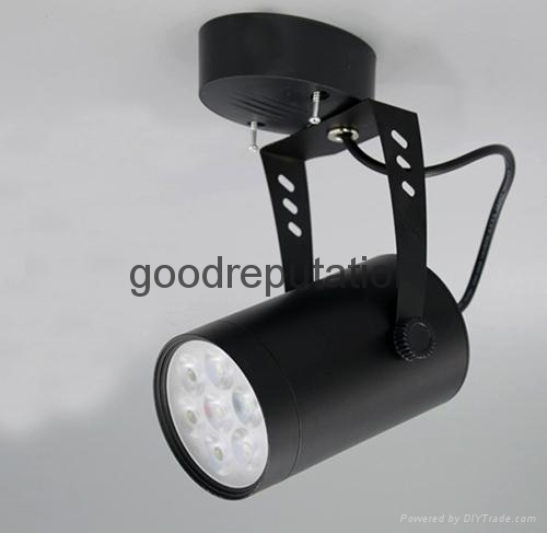zhongshan supply LED track spot light for clothes shop in house indoor light 5