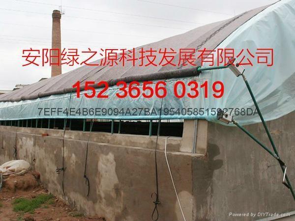 安陽綠之源養殖大棚建設 3