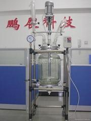 50L大型生產型雙層玻璃反應釜