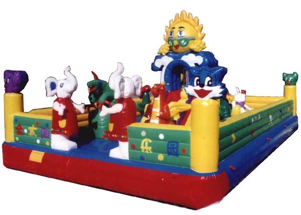 充气玩具迪斯尼城堡 充气跳床 充气攀岩 3