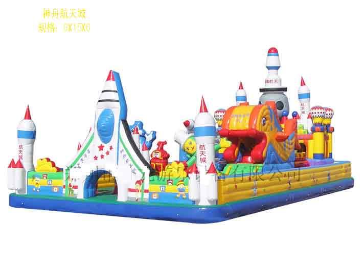 充氣玩具迪斯尼城堡 充氣跳床 充氣攀岩 4