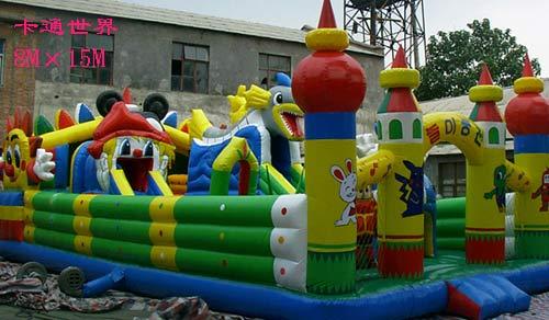 充气玩具迪斯尼城堡 充气跳床 充气攀岩 5