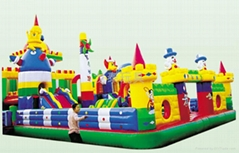 河南龍泰玩具廠專業生產大型充氣玩具充氣跳床 蹦蹦床