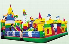 河南龙泰玩具厂专业生产大型充气玩具充气跳床 蹦蹦床