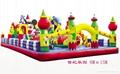 河南龍泰玩具廠專業生產大型充氣玩具充氣跳床 蹦蹦床 2