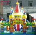河南龙泰玩具厂专业生产大型充气玩具充气跳床 蹦蹦床 3