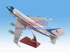 飛機模型 空軍一號波音 747-200