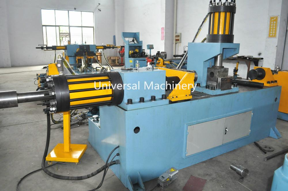 China Factory price Pipe End Forming Machine for Reducing Expanding Flanging 3