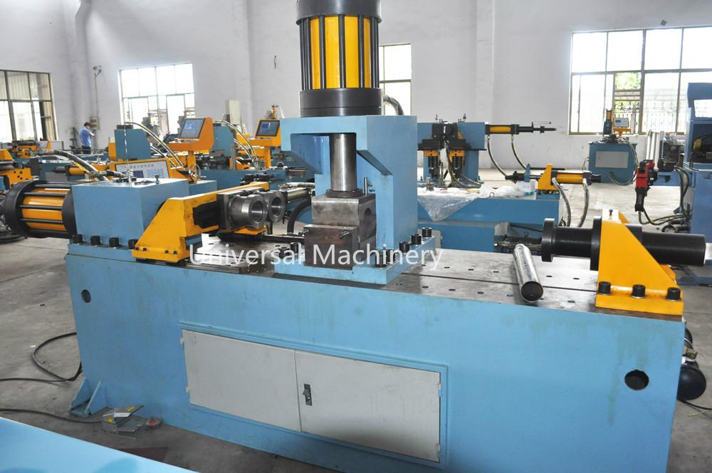 China Factory price Pipe Reducing Machine for pipe reducing expanding flanging 2