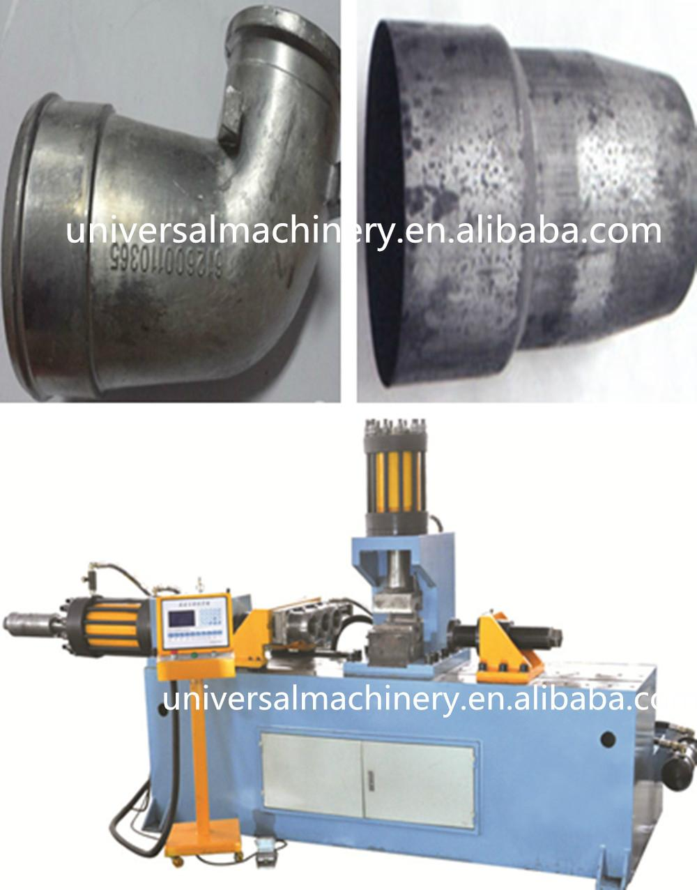 China Factory price Pipe Reducing Machine for pipe reducing expanding flanging 1