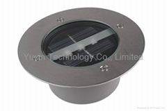 Solar LED underground light