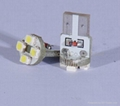 T10 WG 4SMD 3528 Auto LED Lamp