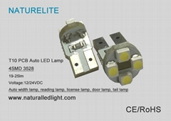 T10 WG 4SMD 3528 Auto LED Lamp (Hot Product - 1*)