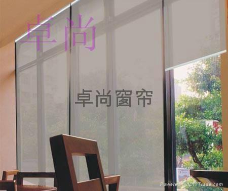 杭州阳光卷帘 透景窗帘 5