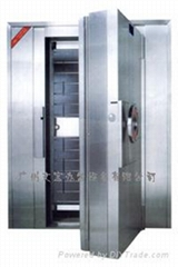 luxurious waterproof strong room doors