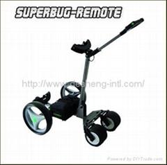 remote golf trolley