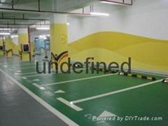 批量生產環氧地坪漆用於停車場施工成都捷宇塗料價格合理