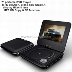 Portable DVD Player with Brand New Grade A Display