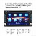 "2Din 6.2""  In-Dash Radio iPod TV Bluetooth GPS Navigation Car DVD/USB/SD Player 2"