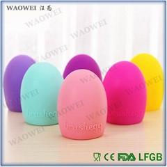 清洗化妆刷工具晾刷架工具硅胶洗刷蛋