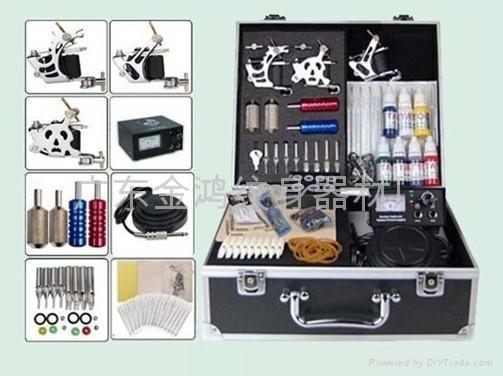 3 gun tattoo machine kit tattoo kits tattoo guns jh for At home tattoo kit