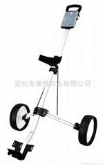 高爾夫鋁制手拉球包車