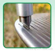 高爾夫鐵杆溝槽鋒利器