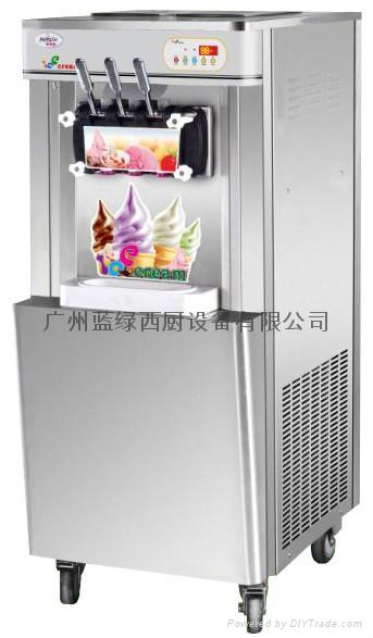 Soft ice cream machine stainless steel np new